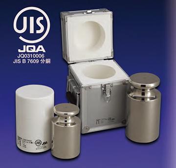 JISマーク付OIML型円筒分銅 商品画像