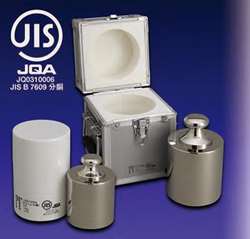 JISマーク付基準分銅型円筒分銅 商品画像